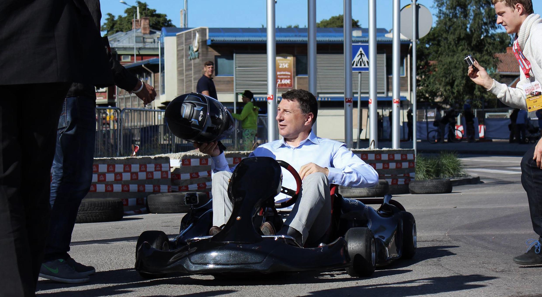Blue Shock Race – Electric Go-Karts