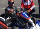 JJ Lehto Finland electric racing kart - Blue Shock Race