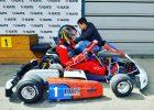 Latvian electric kart championship for kids