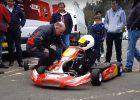 Electric racing kart in UK motorsport championship