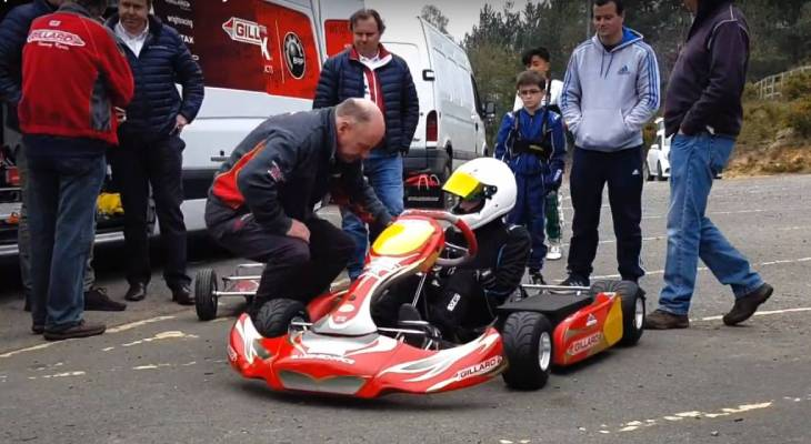 Electric kart championship Motorsport UK London