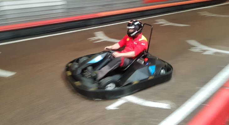 Electric karting for sales for adults