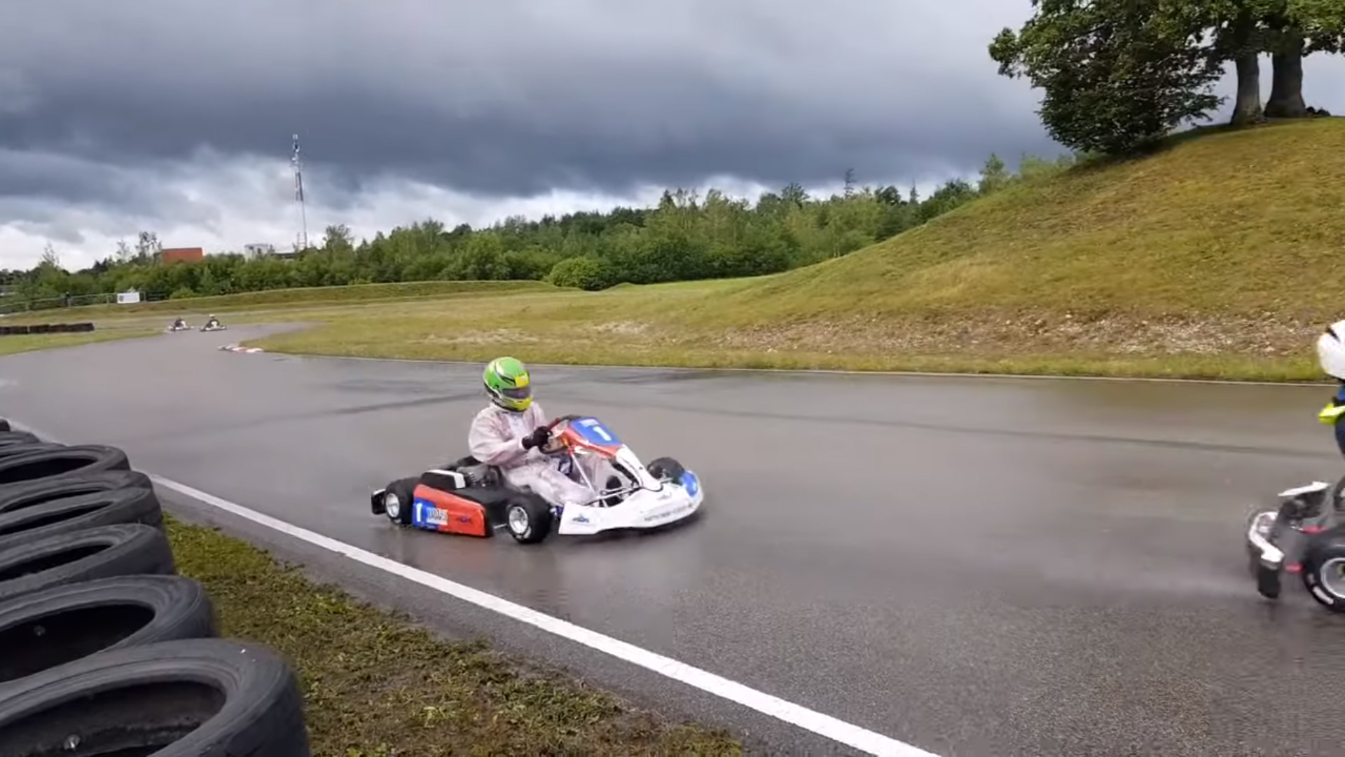 electric kart championship Eriks Gasparovics - madona