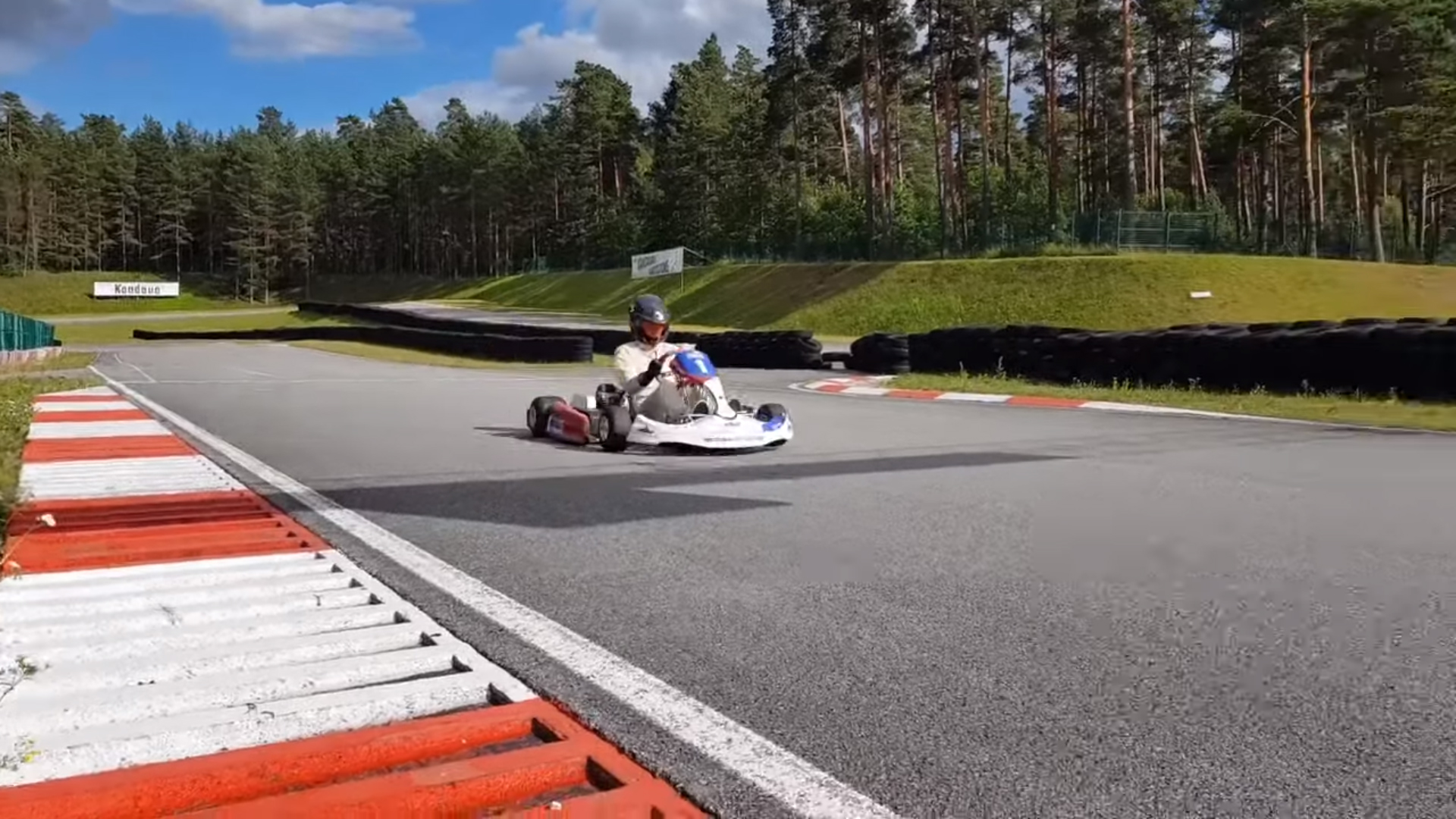 electric kart championship Martins Sesks ERC / WRC