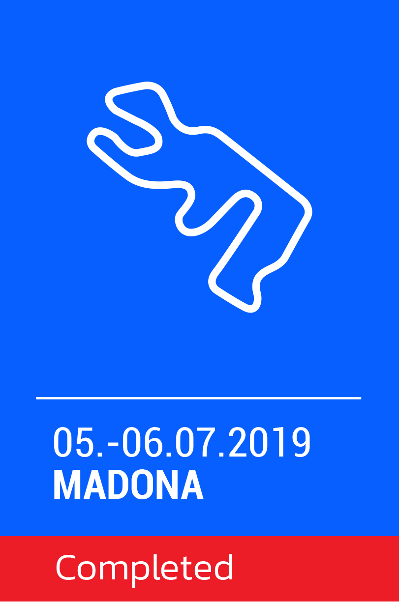 National electric kart championship 2019 / madona 2