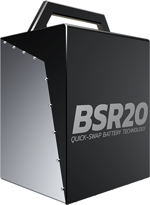 BSR 2.0 battery pack / quick swap battery