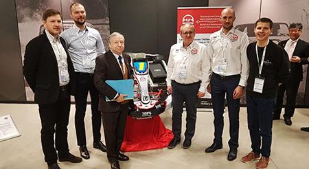 Jean Todt FIA president electric kart championship / Blue Shock Race