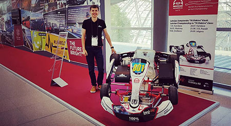 Worlds Transport Summit FIA electric racing Kart