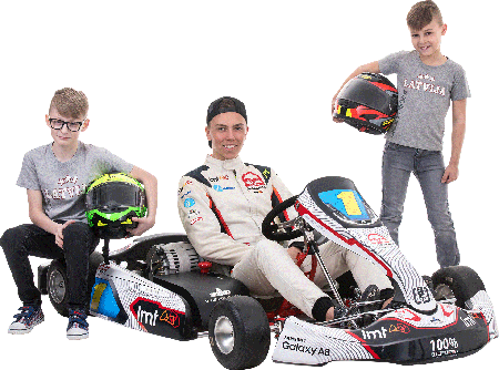 Electric Racing Karts for kids and juniors