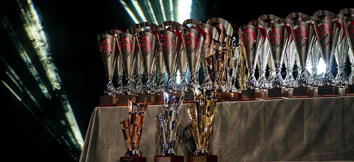 LAF Latvian Electric Kart Championship Prizes 2019