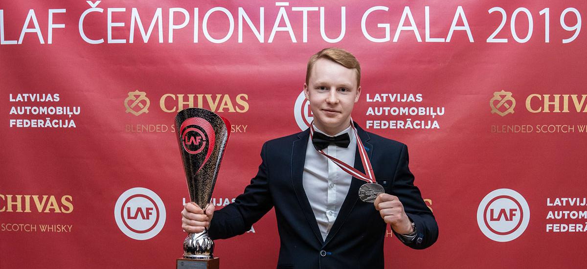 Arnis Dreimanis Latvian Electric Kart Championship 2019 LAF