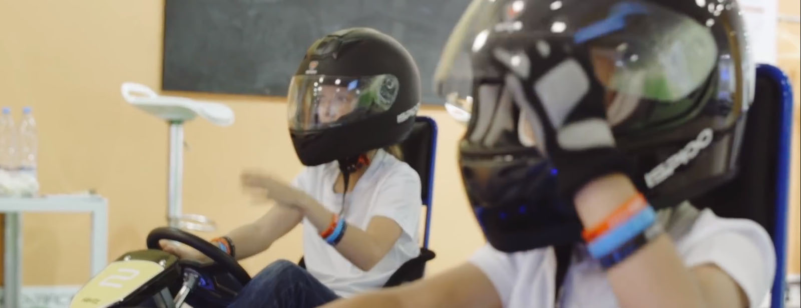Blue shock race karting leasing