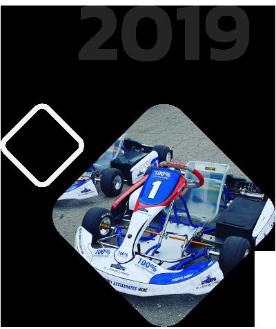 electric racing karts blue shock race