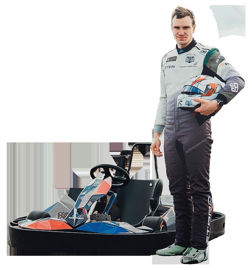 Blue Shock Race electric kart BSR2.0