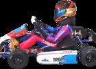 Blue Shock Race, electric go-kart, electric race kart, gokarting, racing, battery,