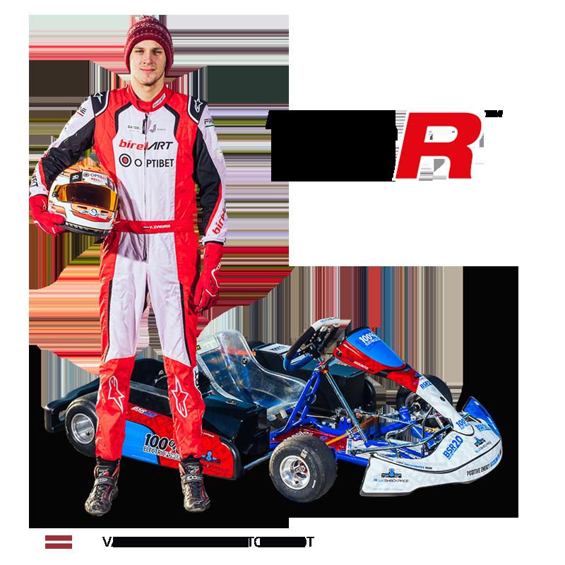 valters zviedris racing kart championship