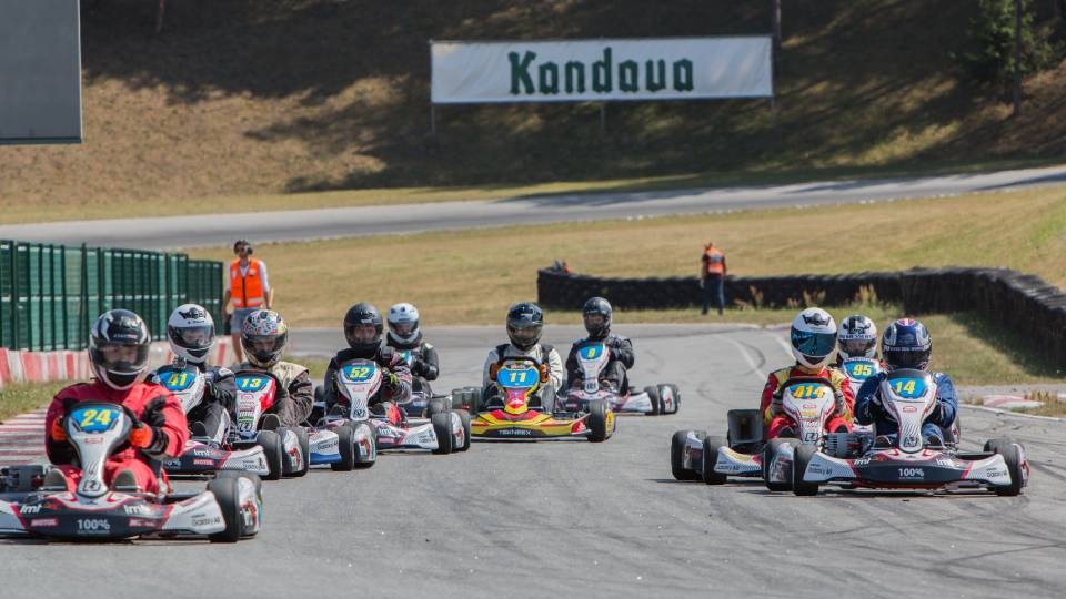 Worlds First national electric kart championship